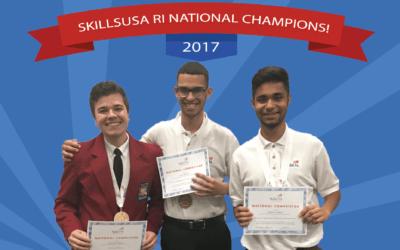 Congratulations SkillsUSA RI National Champions!